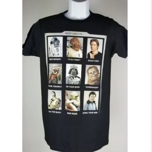 Star Wars Photo Booth T-Shirt S Cotton